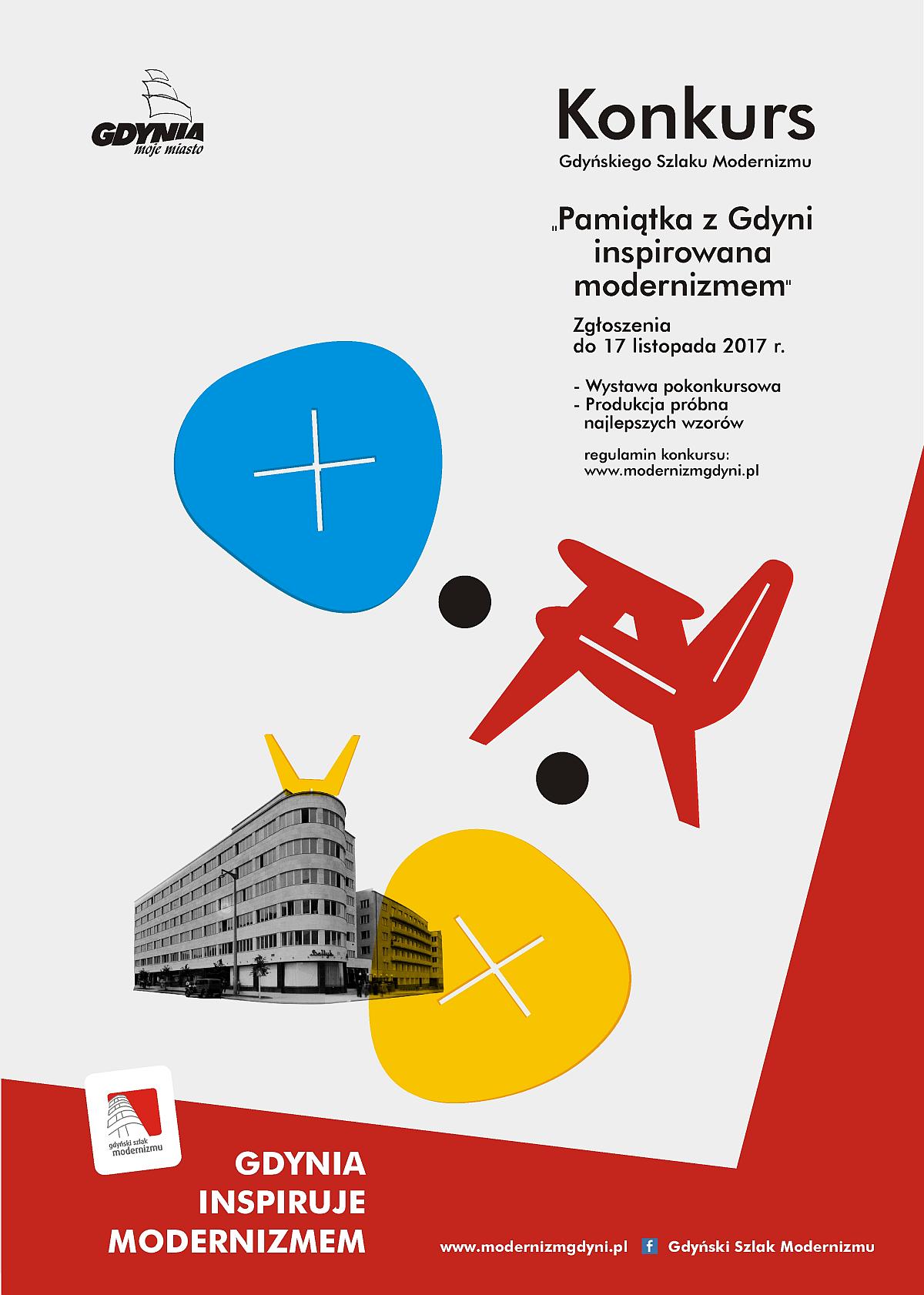 Zaprojektuj inspirowaną modernizmem pamiątkę z Gdyni